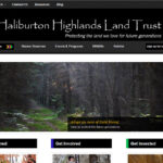 Haliburton Highlands Land Trust screen shot