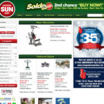 Sun Media Auctions screenshot