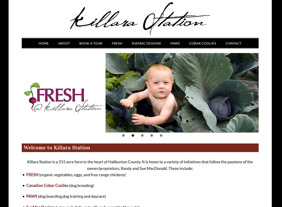 Killara Station Home page