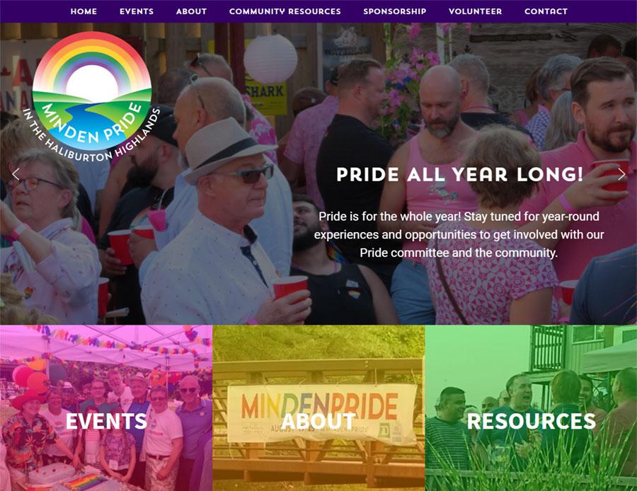 Minden Pride Home Page